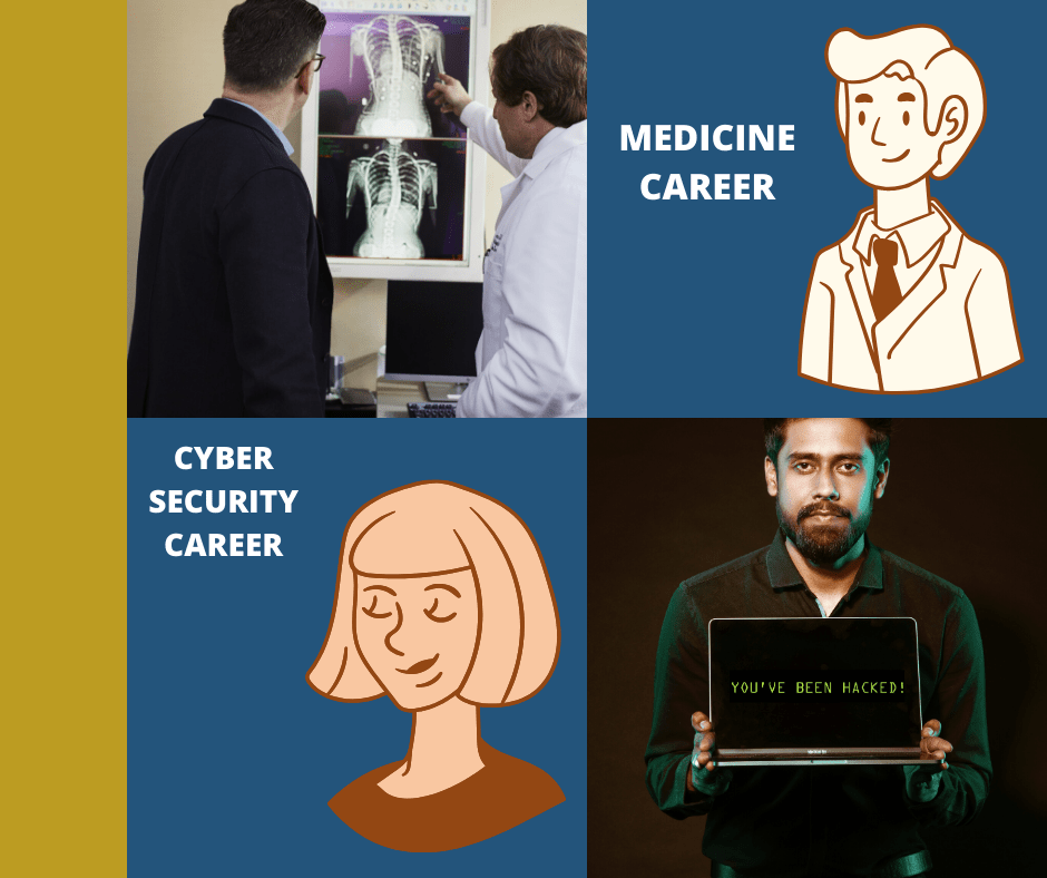 cyber security vs doctor